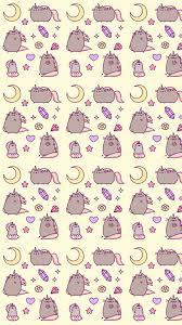 cute cat pattern wallpaper. Wonderful Cat Cat Wallpaper And Pusheen Image To Cute Cat Pattern Wallpaper A