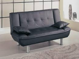 Leather Black Elegance Storage Space Simple Small Loveseats For Small Rooms  Stained Legs