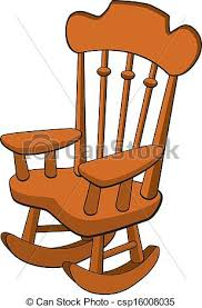 rocking chair clipart. Rocking Chair - Csp16008035 Clipart H