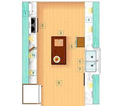 galley kitchen layout with a budget friendly refresh