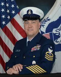 U S Coast Guard Senior Chief Petty Officer Retires