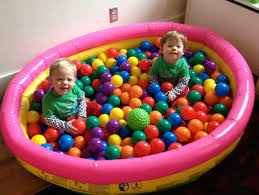 ball pit for babies. ball pit: did not come with babies pit for