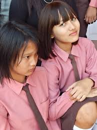 School girls of Nuchhungi English Medium School Hnahthial.