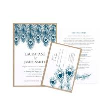 Peacock Invitations 11 Best Peacock Wedding Invitations For One Of A Kind Stationery