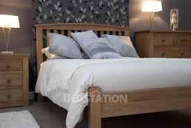 Opus Bedroom Furniture Homestyle Opus Milano Solid Oak Bed From The Bed Station