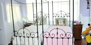wrought iron king bed. Black Iron King Bed Queen And Frame Retro Wrought