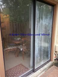 sliding glass door install patio door glass repair 2018 patio sealer