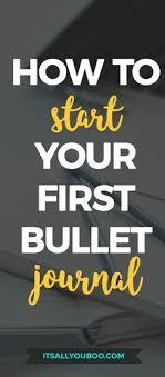 how to start a bullet journal a beginner s guide