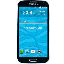 samsung galaxy s4 phone black. freedompop refurbished samsung galaxy s4 cell phone black
