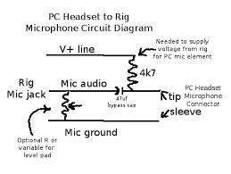 pc headset adapter for ham radio Goodman Heat Pump Wiring Diagram Schematic here's the circuit diagram
