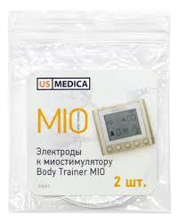 Купить <b>электроды к миостимулятору</b> body trainer mio 2шт US ...