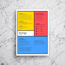Modern Resume Infographics Infographic Resume Template Venngage