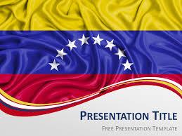 Venezuela Flag Powerpoint And Google Slides Template