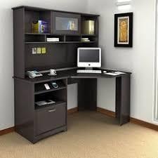 kansas oak hidden home office. Bush Furniture Cabot 3-Piece Espresso Oak Transitional Home Office Set Cab006epo Kansas Hidden