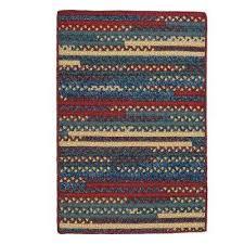 hearth rectangular denim 5 ft x 7 ft braided area rug