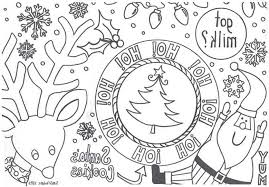 Beautiful Night Before Christmas Coloring Sheet Howtobeawesome
