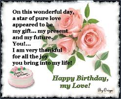 Happy Birthday Love Quotes For Her Mesmerizing Happy Birthday Love Quotes For Her Mastakillanet