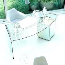 white glass office desk table design brilliant curved google search office table glass10 office