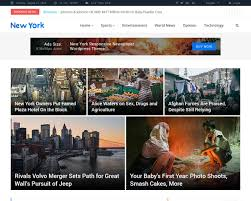 20 Best News And Magazine Website Templates 2019 Templatemag
