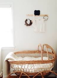 natural wicker bassinet for baby | baby no.2 | Pinterest | Babies ...