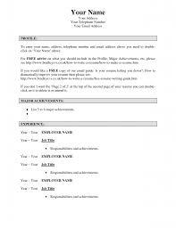 Make Free Resume Free Resume Example And Writing Download