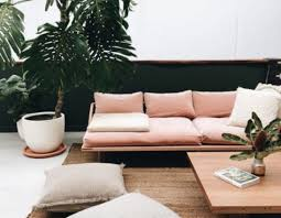 Woonkamer Restylen Styling Tips Interieur Roze Bank Sofa Company