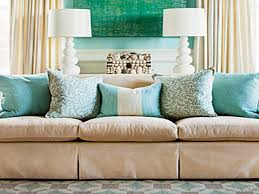 Decorating With Pillows On Sofa
