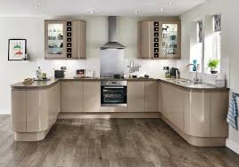 Stone Kitchen Clerkenwell Gloss Stone Contemporary Kitchen From Howdens