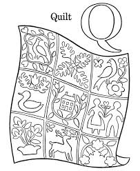 Small Picture q coloring page decimamas letter q with plants alphabet abc