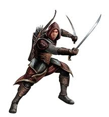 Ranger D D Human Male Ranger Pathfinder Pfrpg Dnd D D D20 Fantasy In