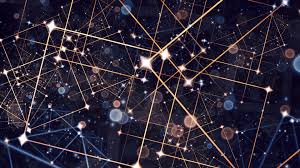 2k Background Wallpaper Stars Lines Abstract Background 1920x1080 Full