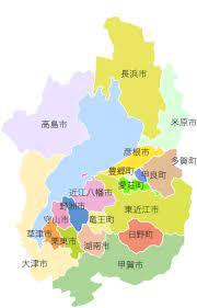 滋賀 県 地図