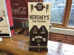 Chocolate Vending Machines Custom Vintage Hershey Chocolate Vending Machine The Old Collectors Garage