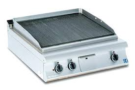 electric grill commercial stainless steel countertop small