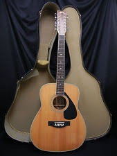 yamaha 12 string. vintage 1980\u0027s yamaha fg-512ii 12-string acoustic guitar w/case 12 string