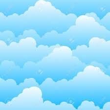 Clouds Design Seamless Texture Of Beautiful Clouds Illustration For Design