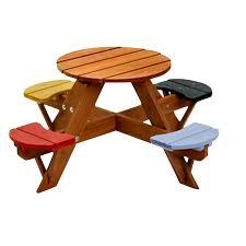 Kidsu0027 Picnic TablesChildrens Outdoor Furniture With Umbrella