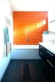 orange bath rug set burnt bathroom rugs and yellow bathr
