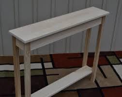 narrow sofa table. Unfinished 36\ Narrow Sofa Table