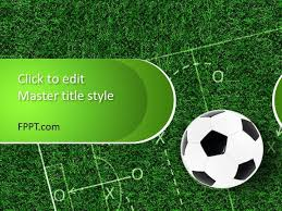 Free Soccer Powerpoint Template Free Powerpoint Templates