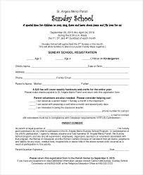 Sunday School Report Card Template Sunday School Registration Certificate 1st Grade School