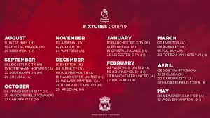 The club was established more than a century ago. Liverpool Fc On Twitter Icymi Our Full 2018 19 Premierleague Fixture List Is Now Out Lfcfixtures