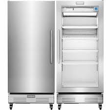 refrigerator and freezer.