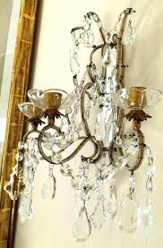 sconces waterford crystal wall sconces polished brass single arm sconce photo lights bathroom definition cask