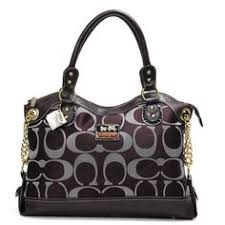 Coach Legacy Pinnacle Lowell In Signature Large Coffee Satchels ADV Cheap  Coach, Coach Purses Cheap