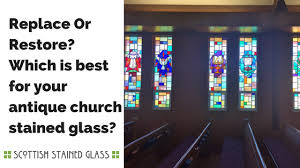 replacing and repairing stained glass on san antonio churches
