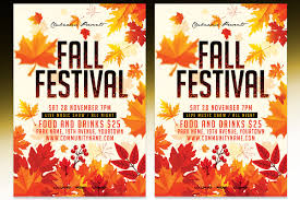 Fall Flyer 003 Template Ideas Fall Festival Flyer Templates Preview