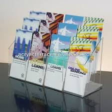 Acrylic Flyer Display Stand Acryl100pockets Clear Acrylic Brochure Holdery100100100 57