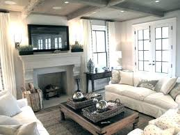 Family room furniture layout Spanish Colonial Family Family Room With Fireplace And Tv Layout Chic Cozy Living Room With Framed Over Stone Fireplace Family Room Furniture Layout Tv Fireplace Donnerlawfirmcom Family Room With Fireplace And Tv Layout Chic Cozy Living Room With