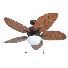 outdoor ceiling fans with lights harbor breeze waveport 52 in weathered bronze indoor outdoor
